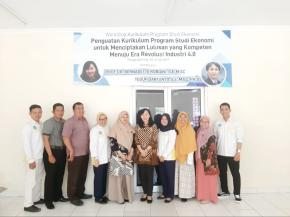 WORKSHOP RE-AKREDITASI PROGRAM STUDI EKONOMI TAHUN 2019