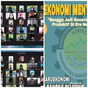 Program Studi Ekonomi dan Himiko melaksanakan kegiatan EKONOMI MENYAPA 2020