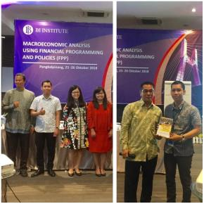 Pelatihan Financial Programming and Policies Oleh Bank Indonesia