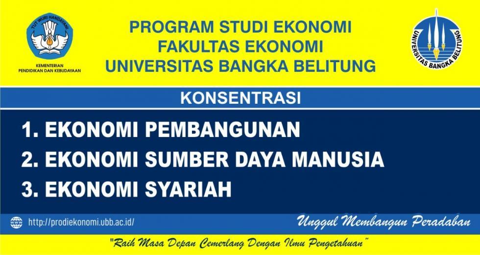 Program Studi Ekonomi Prodi Ekonomi Ubb